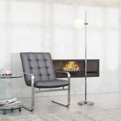 Bulb Floor Lamp Frosted Glass