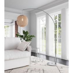 Woven Shade Floor Lamp - Natural