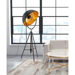 Action Floor Lamp - Antique Black