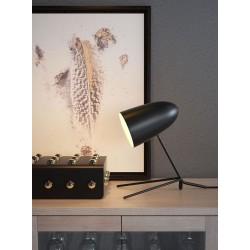 Perfect Profile Matte Black Table Lamp