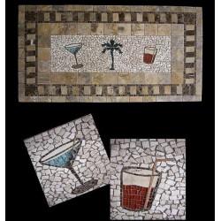 Tropicana Mosaic Table Top