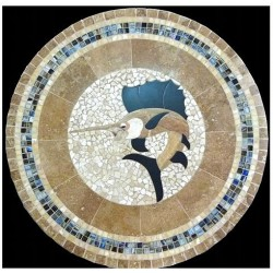 Marlin Mosaic Table Top