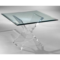 Shape Acrylic End Table Base (with or without top)