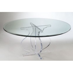 Athens Acrylic Coffee Table