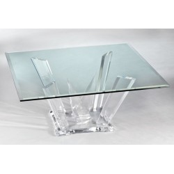 Quest Acrylic Coffee Table Base (with or without top)