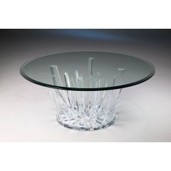 Burst Acrylic Coffee Table Base (with or without top)