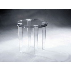 Ember Acrylic End / Side Table