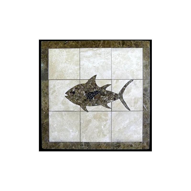 Tuna Mosaic Table Top