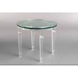 Richard Acrylic End Table