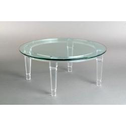 Richard Round Acrylic Coffee Table