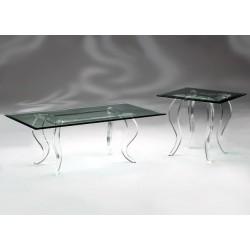 Angela Acrylic End Table...