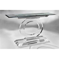 Ontario Acrylic Console Table