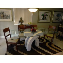 Isabella Marble Dining Table Base