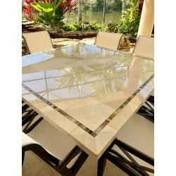 Crema Marfil Mosaic Table Top