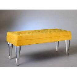 Acrylic Salsa Bench with Fabric Choices