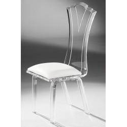Acrylic Princess Dining Chair and Fabric Choices