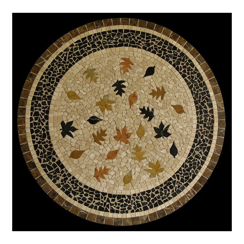 Fall Leaves Mosaic Table Top