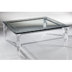 "Dueville Acrylic Coffee Table (42"" x 42"")"