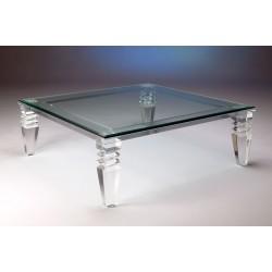 "Dueville Acrylic Coffee Table (48"" x 48"")"