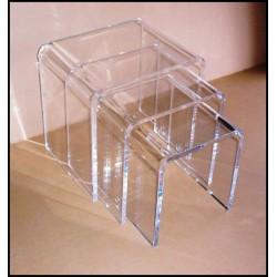 Acrylic Clear Nesting Tables