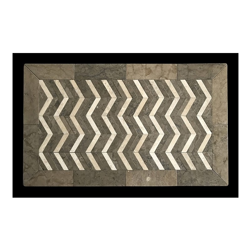 ZigZag Mosaic Table Top