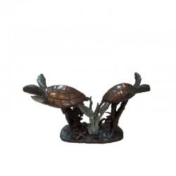 Bronze Two Sea Turtles...