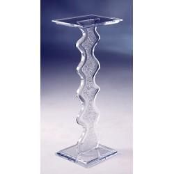 Ice Acrylic Pedestal (with acrylic color choices)