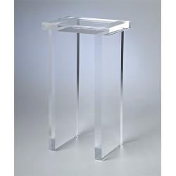 Richard Acrylic Pedestal / Side Table