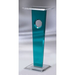 One Eye Acrylic Pedestal (with acrylic color choices)