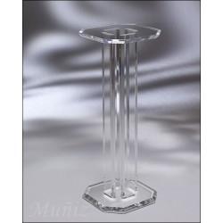 Four Pillars Acrylic Pedestal