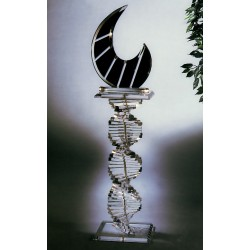 The Twist Acrylic Pedestal