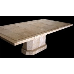Palermo Stone Tile Mosaic Dining Table