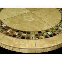 Marquesa Mosaic Table Top - Side View