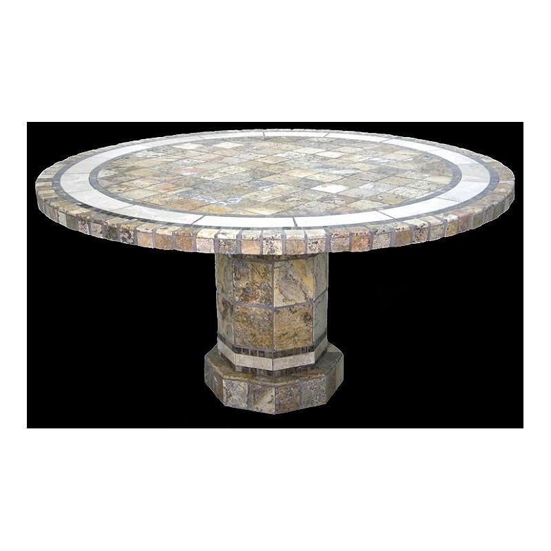 Rio Roma Stone Tile Dining Table