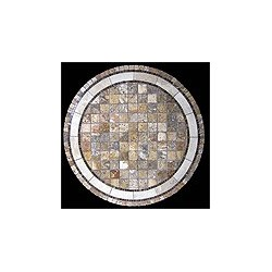 Rio Agea Stone Tile Dining Table - Table Top View