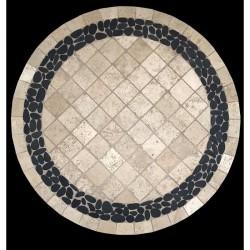 Pebble Creek Mosaic Table Top