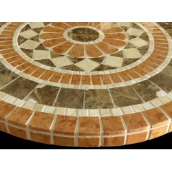 Ascent II Mosaic Table Top - Side View