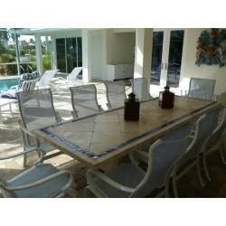 Azul Mosaic Dining Table