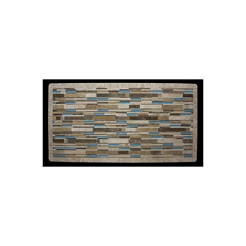 Aqua Mosaic Table Top