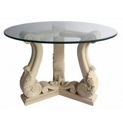 Fleur Limestone Dining Table Base