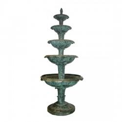 Bronze Five Tier Fountain