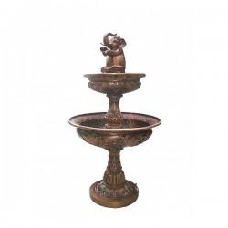 Bronze Elephant Tier Fountain