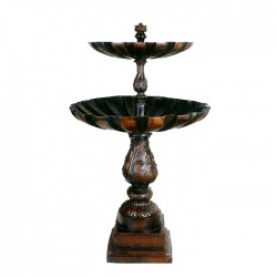 Bronze Two Tier Fountain