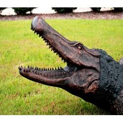 Bronze Alligator Fountain Sculpture - Head