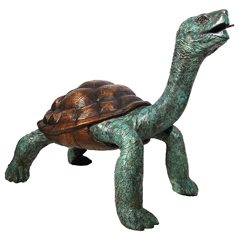 Bronze Galapagos Turtle Fountain
