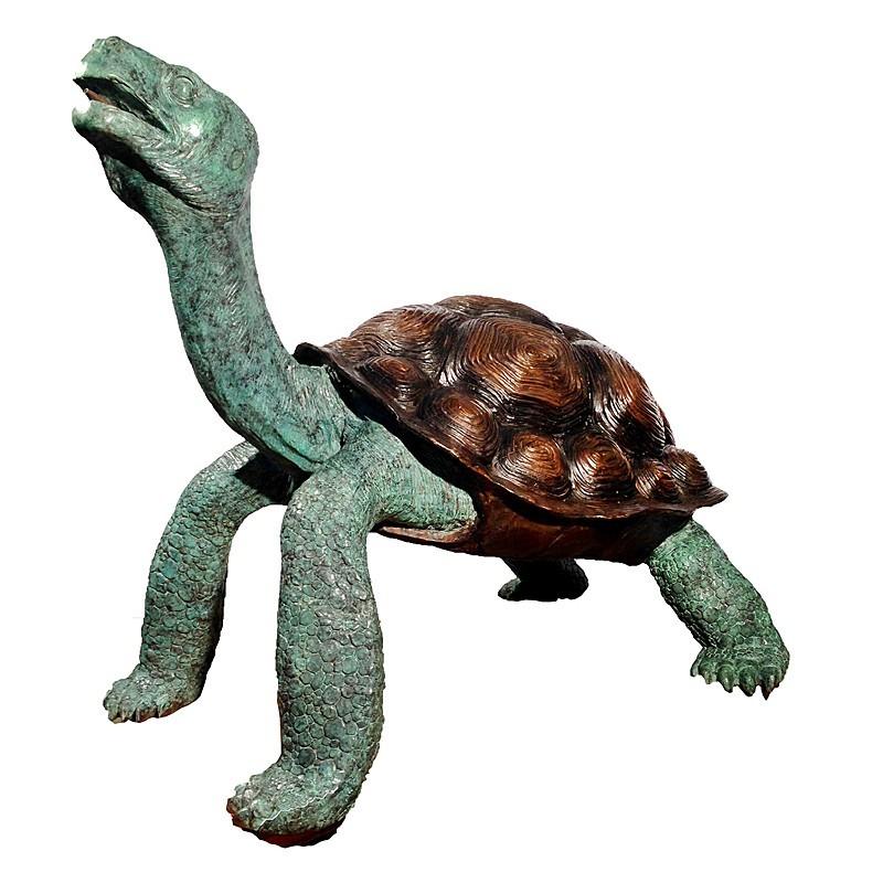 Bronze Giant Turtle Fountain Sculpture