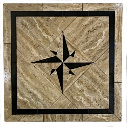 Absolute Compass Mosaic Table Top