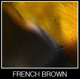 French Brown Patina